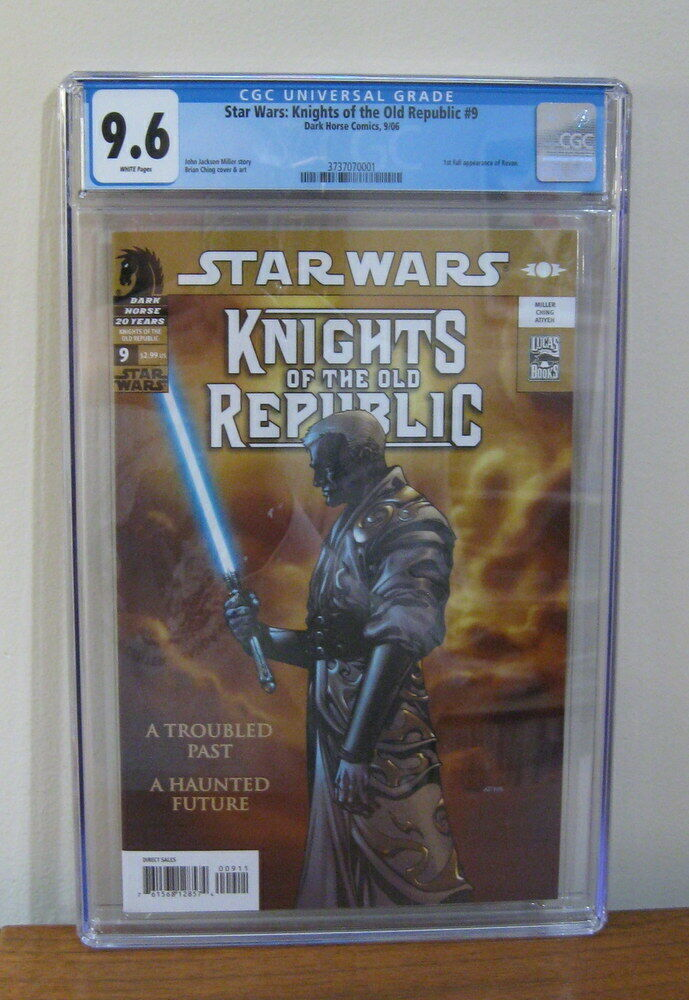 Star Wars Knights of Old Republic 9 CGC 96 1st Darth Revan Dark Horse Comics