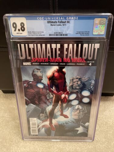 Ultimate Fallout 4 First Print CGC 98  First Miles Morales