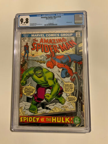 The Amazing SpiderMan 119 CGC 98 WP HIGHEST GRADE