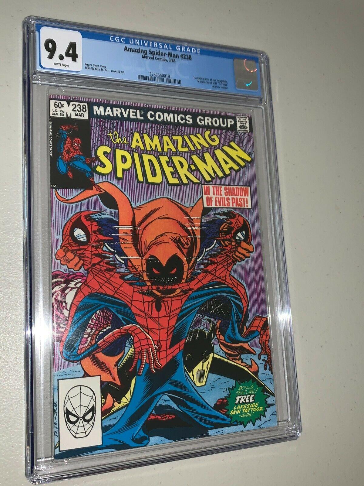 Amazing SpiderMan 238 CGC 94 1st Appearance Hobgoblin