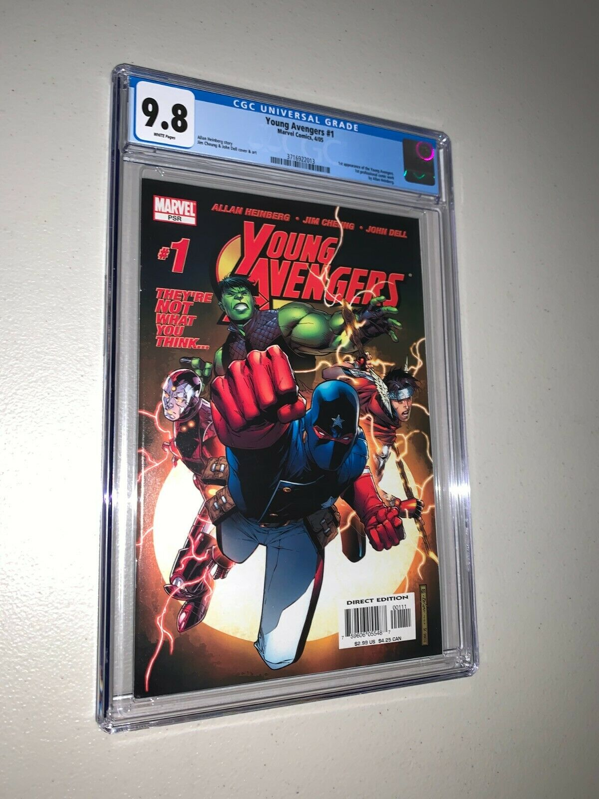 Young Avengers 1 CGC 98 1st Appearance Kate Bishop