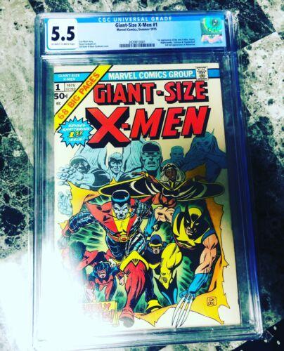 giant size xmen 1 Cgc 55