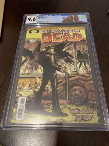 Walking Dead 1 CGC 96 with Rick Grimes Label  First Print First Appearance
