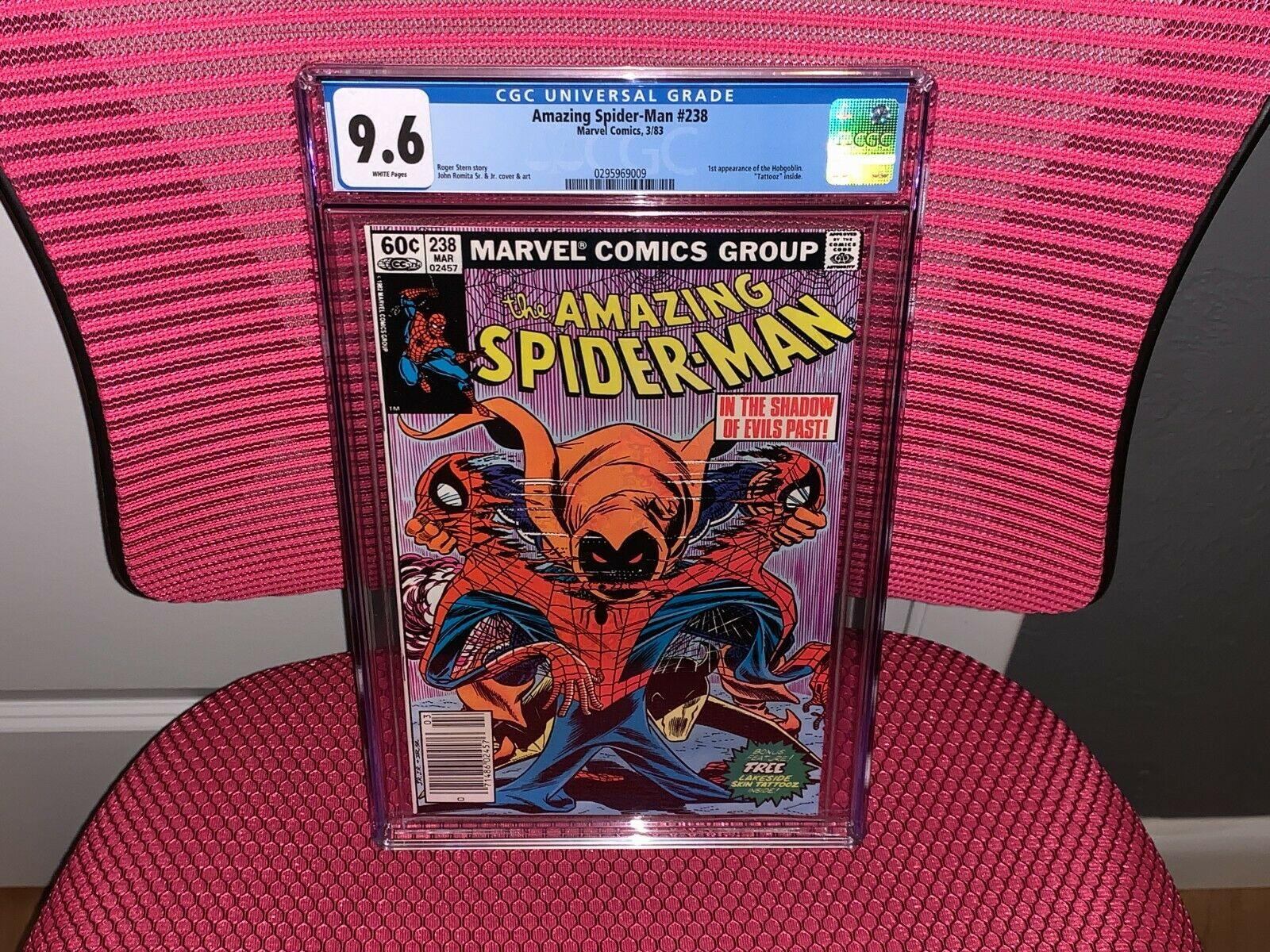 Amazing SpiderMan 238 CGC 96 1st App Hobgoblin