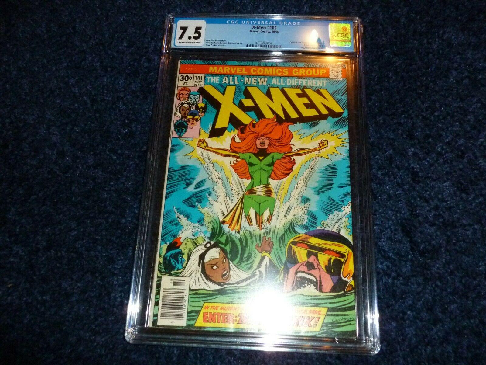 XMEN  101 CGC 75