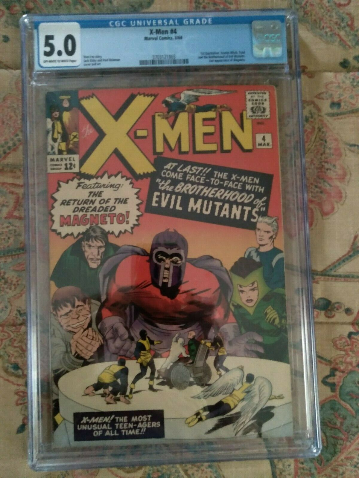 Xmen 4 First Scarlet Witch Quicksilver CGC 50