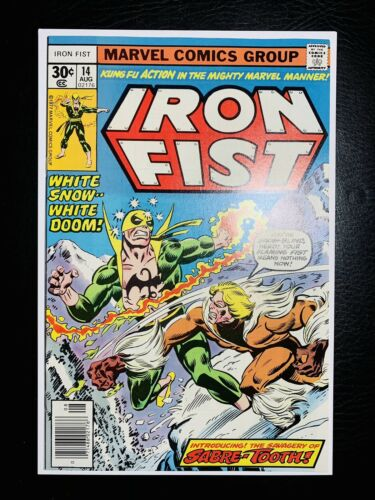 Iron Fist 14 1st App Sabretooth 9698Unread Original Owner SCARCE CGC